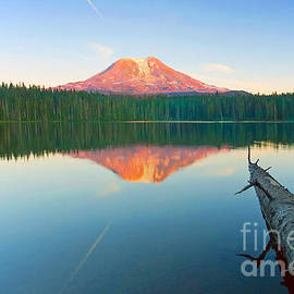 Mike  Dawson - Mt. Adams Alpenglow