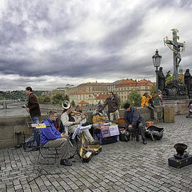Madeline Ellis - Musicians on the Charles Bridge - Prague
