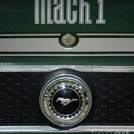 Thomas Woolworth - Mustang Mach 1 Emblem