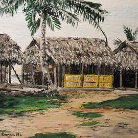 Sharon  De Vore - My Hut San Blas Islands
