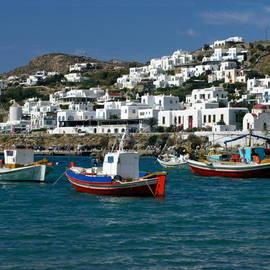 Sally Weigand - Mykonos Fishing Boats