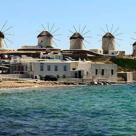 Sally Weigand - Mykonos Windmills