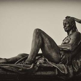 Bill Cannon - Native American statue - Eakins Oval Philadelphia