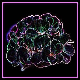 Angie Tirado - Neon Flowers