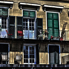 Cecil Fuselier - New Orleans Balcony