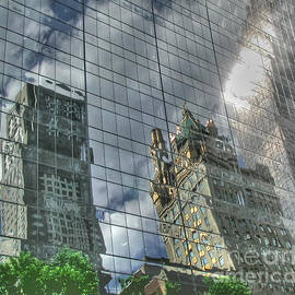 Tap  On Photo - New York City Reflections