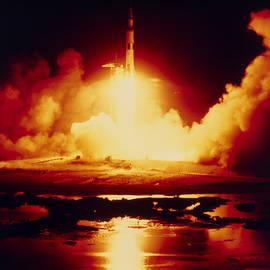 Nasa - Night Launch Of Apollo 17