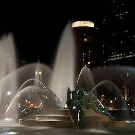 Bill Cannon - Night View of Swann Fountain