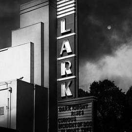 Wingsdomain Art and Photography - Nightfall At The Lark - Larkspur California - 5D18482 - Black and White