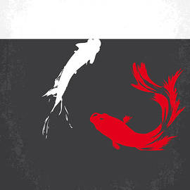 Chungkong Art - No073 My Rumble fish minimal movie poster