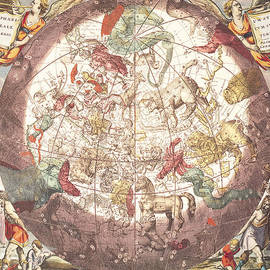 Pieter Schenk - Northern Boreal Hemisphere From The Celestial Atlas