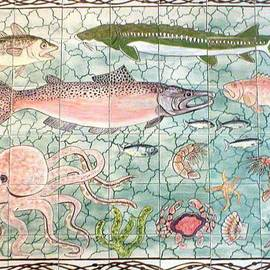 Dy Witt - Northwest Fish Mural