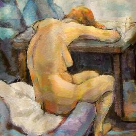 Alfons Niex - Nude Painting 1