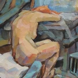 Alfons Niex - Nude Painting 3