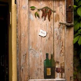 Sally Weigand - Old Door and Wine
