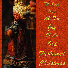 Lois Bryan - Old Fashioned Santa Christmas Card