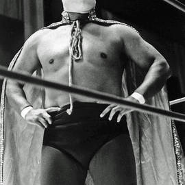 Jim Fitzpatrick - Old School Masked Wrestler Luchador
