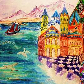 Jeanne Mytareva - On the island of Buyan.