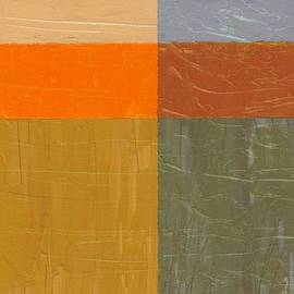 Michelle Calkins - Orange and Grey