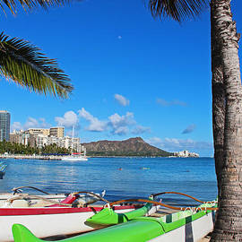 Kerri Ligatich - Outrigger Canoes in Waikiki