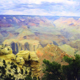 M K  Miller - Painted Grand Canyon