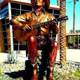 Randall Weidner - Palm Springs Gene Autry Statue