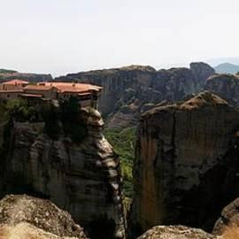 Jouko Lehto - Panorama of the Monastery of Roussanou
