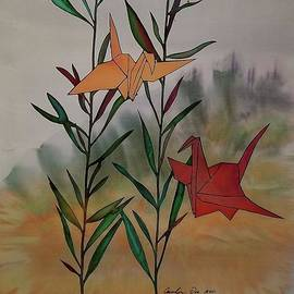 Carolyn Doe - Paper Cranes 1