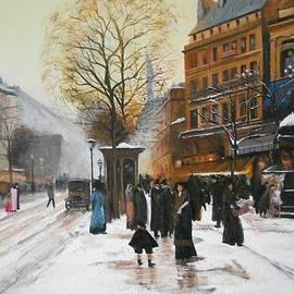 Joseph Simone - paris boulevard bonne nouvelle from LaLoue