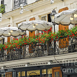 Elena Elisseeva - Paris cafe