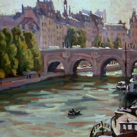 Thor Wickstrom - Paris The Seine and Pont Neuf