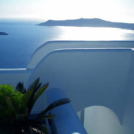 Colette V Hera  Guggenheim  - Peaceful Sunset Santorini