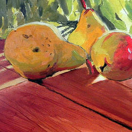 Darrell Baschak - Pears in Sunlight