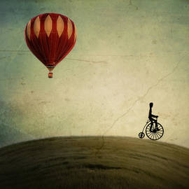 Irene Suchocki - Penny Farthing for Your Thoughts