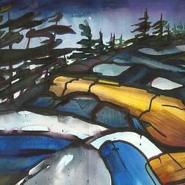 Madelaine Alter - Petroglyphs Provincial Park Trail