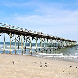 Eve Spring - Pier at Kure Beach