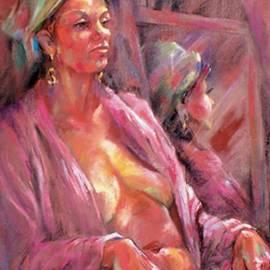 Joan  Jones - Pink Chenille