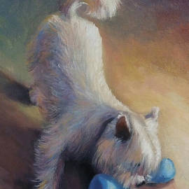 Gretchen Ten Eyck Hunt - Playful Westie