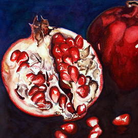 Mary C Farrenkopf  - Pomegranate Study Number Two