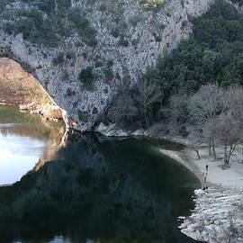 Colette V Hera  Guggenheim  - Pond Dark Ardeche France
