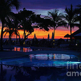 Randy Harris - Poolside Sunset