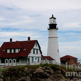 Thomas Marchessault - Portland Head Light Cape Elizabeth Maine