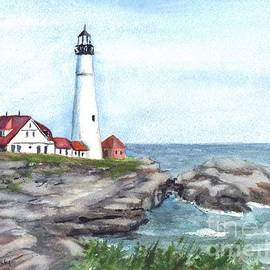 Carol Wisniewski - Portland Head Lighthouse Maine USA
