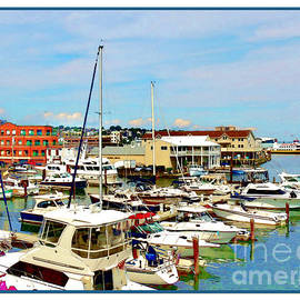Joan  Minchak - Portland Maine Harbor