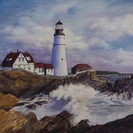 Toni Roark - Portland Maine Lighthouse