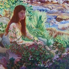 Dawn Senior-Trask - Portrait by the Stream