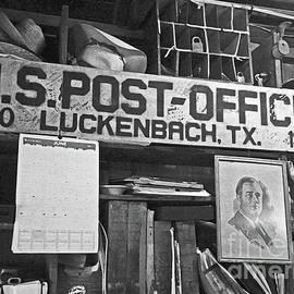 Joe Jake Pratt - Post Office  Luckenbach Texas