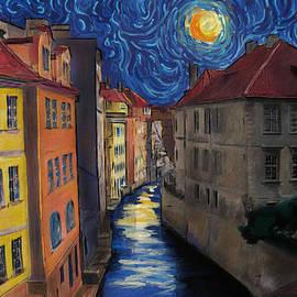Jo-Anne Gazo-McKim - Prague by Moonlight
