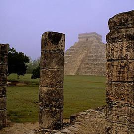 Cliff Wassmann - Pyramid at Chichen Itza
