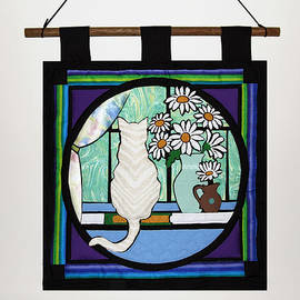 Sally Weigand - Quilted Cat